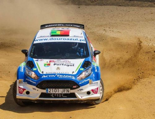 A AIMMP no rally de Portugal